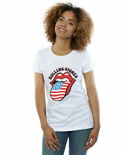 Rolling Stones Mujer American Flag Camiseta