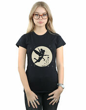 Disney Mujer Tinkerbell Moon Cropped Camiseta