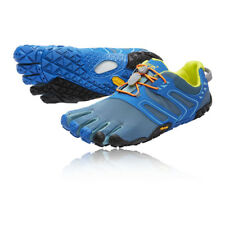 Vibram Mens FiveFingers V-Trail Running Shoes Trainers Sneakers Blue Sports
