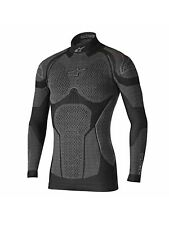 Alpinestars Black-Grey Ride Tech Winter Long Sleeved Baselayer Top