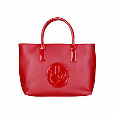 bd85858 BLU BYBLOS SHOPPING BAG ROSSO DONNA WOMEN'S RED SHOPPING BAG