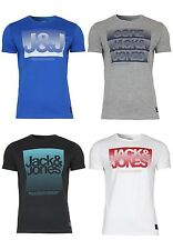JACK JONES Mens T SHIRT jjcohundred MAGLIETTA MANICA CORTA GIROCOLLO