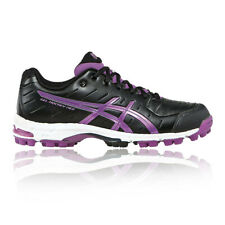 Asics Donna Gel-Hockey Neo 3 Scarpe da Hockey Ginnastica Sport Terreno Nero