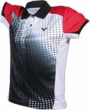 VICTOR POLO INDONESIA FEMMINA BLACK 6404 badminton ping-pong Lady SIGNORA