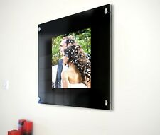 """Picture photo frame for 6 x 9 """"/9 x 6"""" photo all colour Cheshire acrylics"""