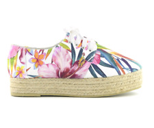 Colors Of California Double Sole Espadrille Flower Sandali Donna CHESPA30 WHT Wh