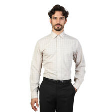 BROOKS BROTHERS CAMICIA SPORTIVA SLIM FIT 100040453_BEIGE ORIGINALE NUOVA