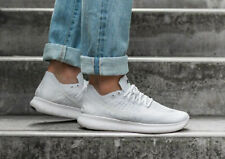 NIKE FREE RN FLYKNIT 2017 Running Trainers Run Gym Casual  White - Various Sizes
