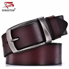 Men's high quality leather belt man fashion strap for jeans