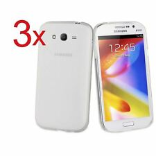 3x Cover Custodia Trasparente Slim Per Galaxy Note 4 Grand Neo Plus J3