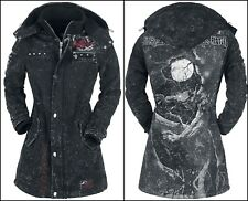 OFFICIAL Iron Maiden - Fear Of The Dark WOMEN Winter Jacket Metallica Rock Metal