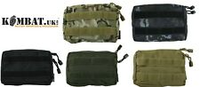 Kombat Small Utility pouch MOLLE fixings BTP (MTP Match) Green, Black or Tan