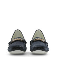 LAURA BIAGIOTTI MOCASSINI DONNA 728_SPLASH_NAVY PELLE NUOVO ORIGINALE MOCASSINO