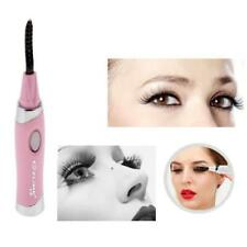 Long Lasting Pen Electric Heated Makeup Eye Lashes Eyelash Curler Brush Comb