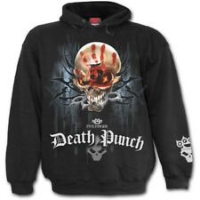 Spiral 5Fdp - Game Over, Licensed Band Hoody Black|Skull|Reaper|Blood