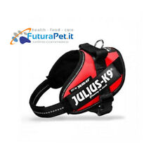 JULIUS-K9 IDC POWER RED POWER HARNESS PETTORINA ROSSA PER CANE IN NYLON DOG