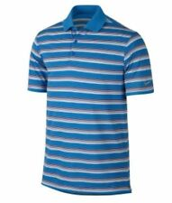 NIKE UOMO golf Tour Performance Tech spacco Polo a righe RISPARMIA 40% XL
