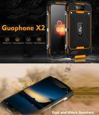"""5"""" GUOPHONE x 2 5500mah Libre 4g SMARTPHONE Impermeable Android 6.0 2g + 16G"""