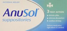 A Anusol Haemorrhoids Piles Treatment 24 Suppositories