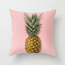 Throw Cushion Home Decor Pillow Cover Case Double Sided Printed Pineapple