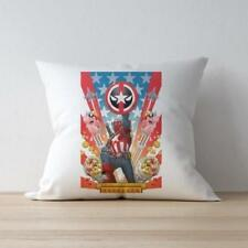 Throw Cushion Home Decor Pillow Cover Case Double Sided Dead Cap America