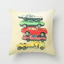 Throw Cushion Home Decor Pillow Cover Case Double Sided Pile Up Car