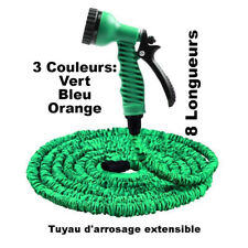 Tuyau d'arrosage extensible magic hose rétractable avec pistolet