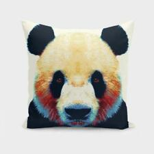Throw Cushion Home Decor Pillow Cover Case Double Sided Panda Animals