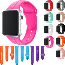 Sport Belt Silicone Band Replacement Wrist Strap for iWatch Apple Watch 38/42 MM