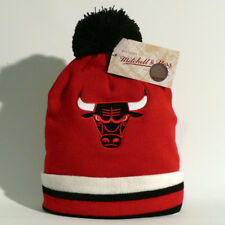 Chicago Bulls Beanie / Wollmütze - Mitchell & Ness - NBA Basketball Jordan - Neu