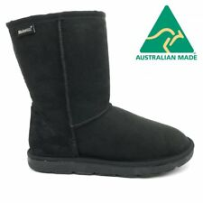 Mubo UGG 36901 BLACK WATER RESISTANTS AUSTRILIAN MADE 3/4 CLASSIC UGG BOOTS