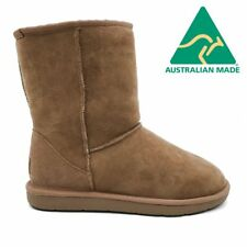 Mubo UGG 36901 Chestnut color WATER RESISTANTS AUSTRILIAN MADE 3/4 CLASSIC UGG B