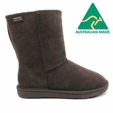 Mubo UGG 36901 Chocolate color WATER RESISTANTS AUSTRILIAN MADE 3/4 CLASSIC UGG