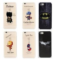 Marvel/DC Superheroes Slim Hard Back Phone Case for Apple iPhone Samsung Galaxy