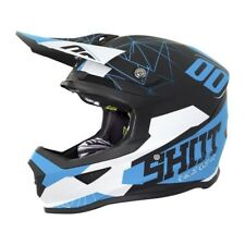 SHOT Casque Cross Furious Spectre Noir Bleu Mat