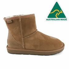 Mubo UGG 36904 CHESTNUT WATER RESISTANTS AUSTRILIAN MADE CLASSIC MINI UGG BOOTS