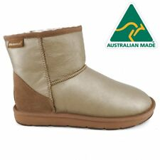 Mubo UGG 36904 GOLDEN WATER RESISTANTS AUSTRILIAN MADE CLASSIC MINI UGG BOOTS