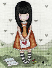 Bothy Threads Santoro Gorjuss 'I Gave You My Heart' Cross Stitch Kit *Free P+P*