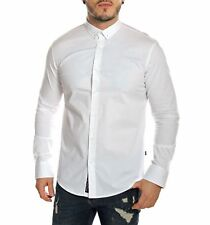 Carisma - Chemise homme slim manches longues blanche - Neuf