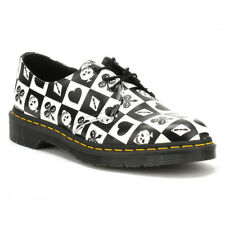 Dr. Martens Mens / Womens Black / Playing Card Backhand 1461 Shoes Sizes [3-10]