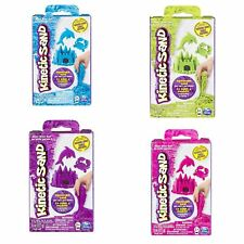 Spin Master - Kinetic Sand 8oz Neon Box, Blue, Green, Pink & Purple