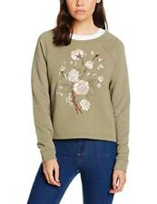 New Look Embroided Floral, Felpa Donna - NUOVO