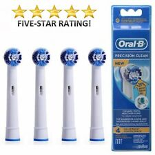 ORAL B electric tooth Brush Heads x 4