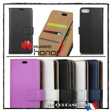 Etui coque housse Cuir PU Leather Stand Wallet case cover Huawei Honor 10