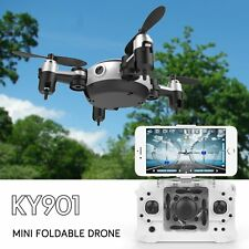 Folding WIFI RC Quadcopter Mini Camera Drone  2.4GHz 4CH 6-Axis Gyro RTF UAV RC