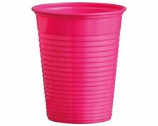 BICCHIERE DA FESTA MAGENTA 180 ml in plastica Ø 70 mm PARTY BBQ Catering