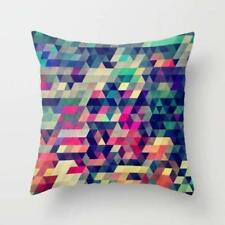 Throw Cushion Home Decor Pillow Cover Case Double Sided Color Atym