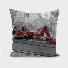 Throw Cushion Home Decor Pillow Cover Case Double Sided Deadpool Degenerate