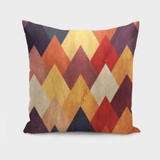Throw Cushion Home Decor Pillow Cover Case Double Sided Eccentric Mountains Fall
