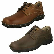Mens Hush Puppies Mens Lace Up Casual Shoes - Geography Lace
